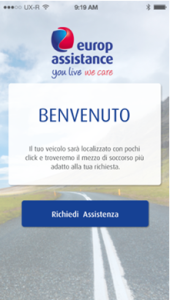 App Assistenza stradale Europ